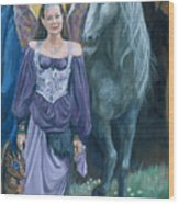 Medieval Fantasy Wood Print
