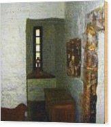 Medieval Monastic Cell Wood Print