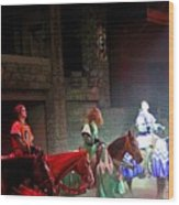 Medieval Times Dinner Theatre In Las Vegas Wood Print
