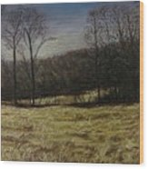 Medina Cornfield Wood Print