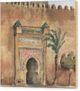 Medina Morocco,  Wood Print