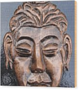 Meditating Buddha Wood Print