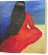Meditation Moment Wood Print