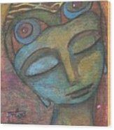 Meditative Awareness Wood Print
