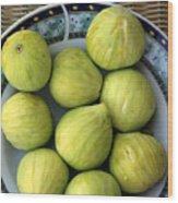 Mediterranean Figs Wood Print