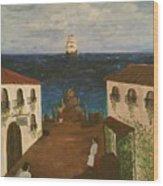 Mediterranean Wood Print