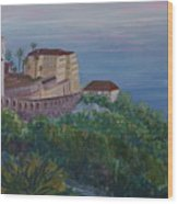 Mediterranean Overview Wood Print