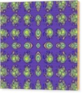 Mediterranean Pattern Wood Print