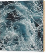 Mediterranean Sea Art 113 Wood Print