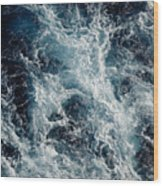 Mediterranean Sea Art 117 Wood Print