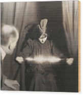 Medium During Seance 1912 Wood Print