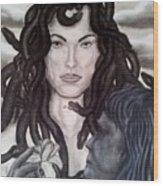 Medusa's Lament Wood Print