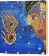 Meera Wood Print