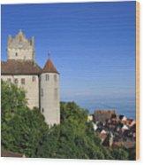 Meersburg Castle - Lake Constance Or Bodensee - Germany Wood Print