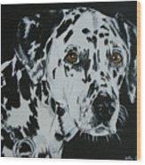 Meet Annie Wood Print by Betty-Anne McDonald