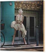 Meet Marilyn Wood Print