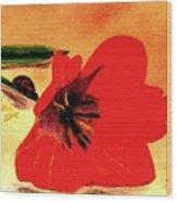 Meet Me In The Tulips Wood Print