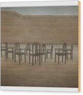 Meeting Place Wood Print