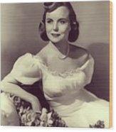 Meg Randall, Vintage Actress Wood Print
