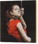 Meg White Wood Print
