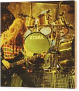 Megadeath 93-david-0364 Wood Print