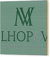 Mehlhop  Vogt Law Offices Wood Print