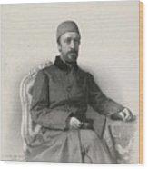 Mehmed Emin Wood Print