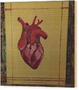 Mein Herz My Heart Wood Print