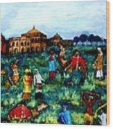Mela - Carnival Wood Print