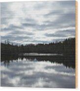 Melancholy Reflections Wood Print