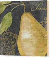 Melange French Yellow Pear Wood Print