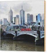 Melbourne 2014 Aids Conference Wood Print