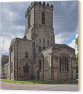 Melbourne Parish Church In Derbyshire Wood Print