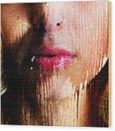 Melissa Face Wood Print