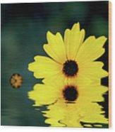 Mellow Yellow Wood Print