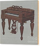 Melodeon Wood Print