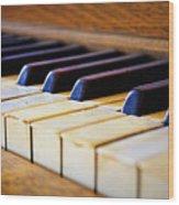 Melodies And Memories Wood Print
