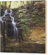 Memorial Falls Wood Print