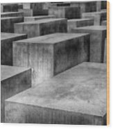 Memorial To The Murdered Jews Of Europe Wood Print