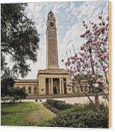 Memorial Tower Wood Print