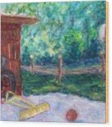 Memories 3 Wood Print