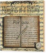 Memories 5 Wood Print