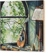 Memories And Music Wood Print