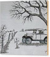 Memories For Sale Wood Print