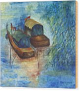 Memories From China Wood Print