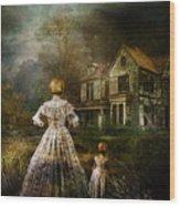 Memories Wood Print by Mary Hood