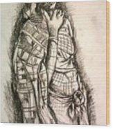 Memories Of Africa Wood Print