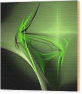 Memories Of Green Wood Print