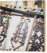 Memories Of Mardi Gras Wood Print