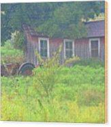 Memories Of Oklahoma Wood Print